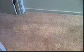 How to clean carpet bleach stains?